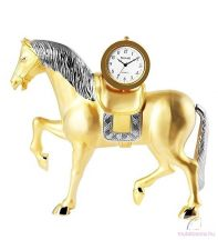 Tavolino nagyméretű lovas asztali óra