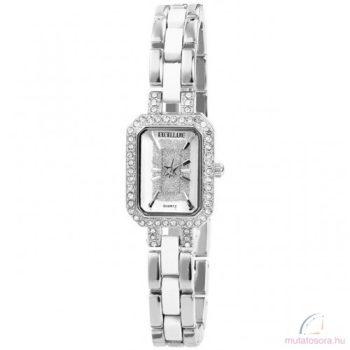 Excellanc Kisméretű köves ezüst színű fém női óra