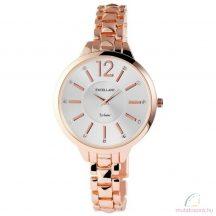 Excellanc Leila rose gold színű köves női óra