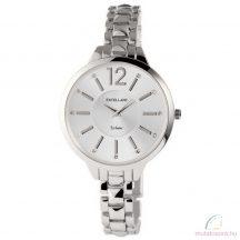 Excellanc Leila ezüst színű köves női óra