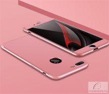 """iPhone 7, """"360°-os"""" Pattintós Műanyag Tok (Pink)"""