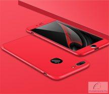 "iPhone 7, ""360°-os"" Pattintós Műanyag Tok (Piros)"