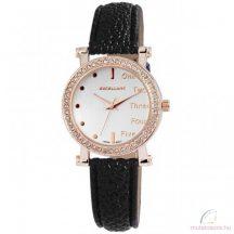 Excellanc Doris köves rose gold színű női óra fekete