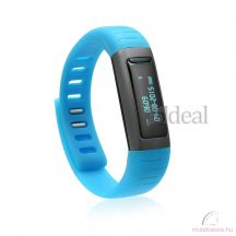 U9 OLED Bluetooth Smart Karkötő óra Samsung telefonhoz kék