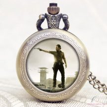 The Walking Dead láncos óra Rick