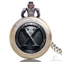 X-Men láncos óra - méregzöld