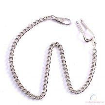Ezüst zsebóra lánc