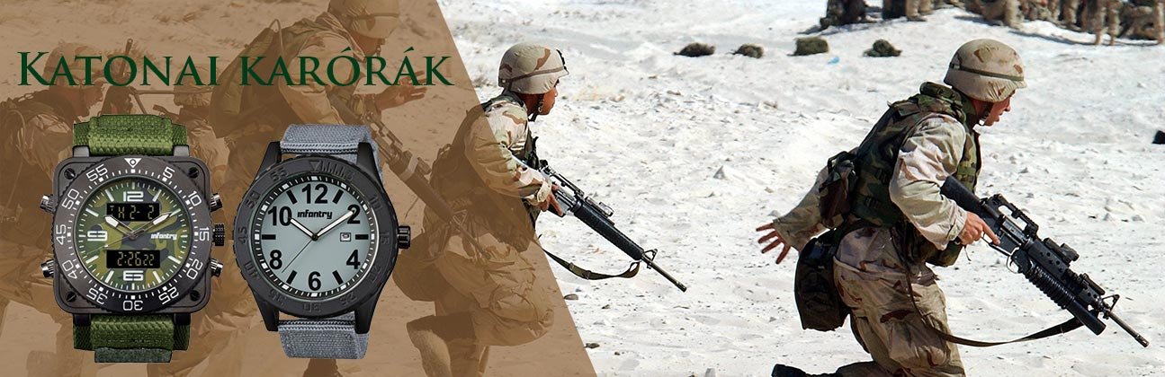 Infantry katonai órák